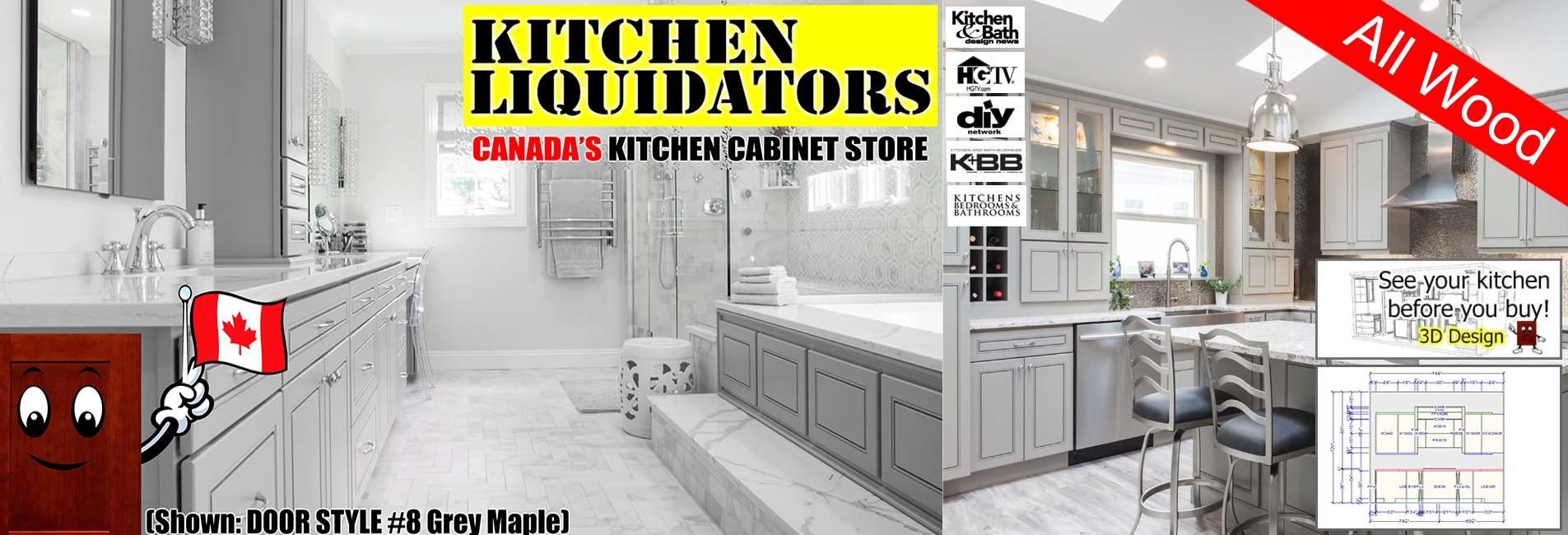 Canada Kitchen Liquidators – Kitchen Cabinets - Sinks